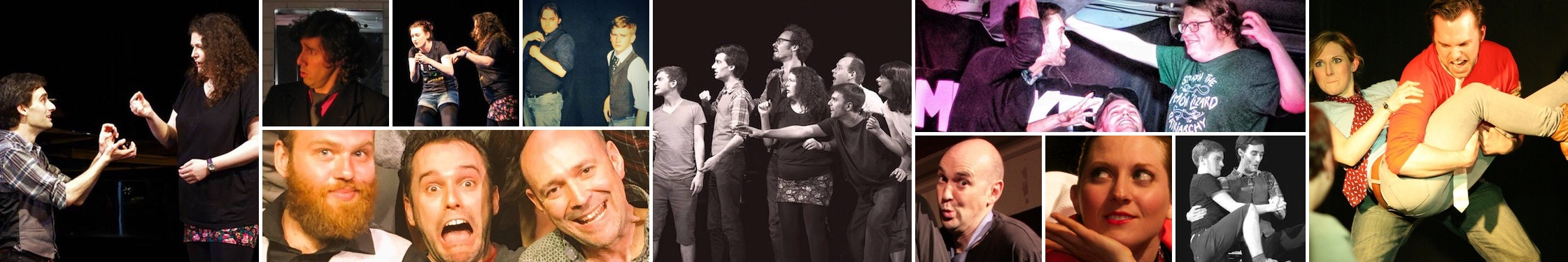 TBC Improv - Edinburgh's own improv comedy theatre company - entertaining the capital and beyond since 2009