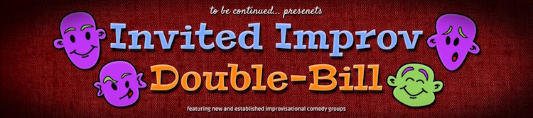 Invited Improv Double-Bill Logo
