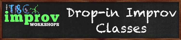Drop-in Improv Workshop Logo